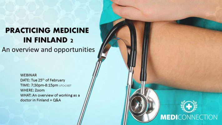 Practicing medicine in Finland - Webinar