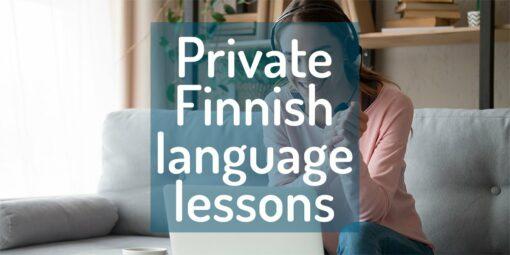 Private Finnish language lessons