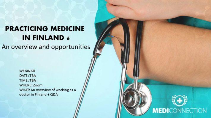Practicing medicine in Finland webinar